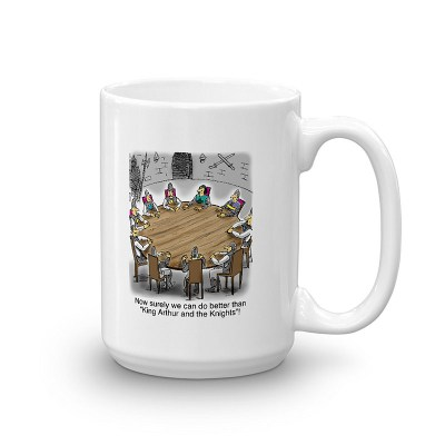 King Arthur and the Knights of the Round Table Coffee Mugs