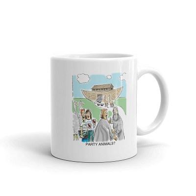 party animals coffee mug 11oz
