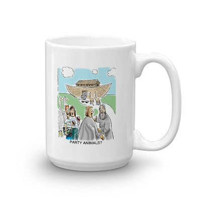 party animals coffee mug 15oz