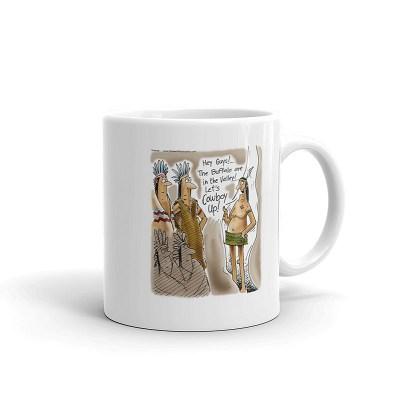 lets cowboy up mug