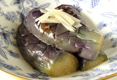 ナスのさっぱりレシピ。レンジで作る簡単美味しいおかず