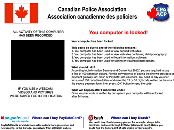 Canadian Police Association - Association canadiene des policier Virus