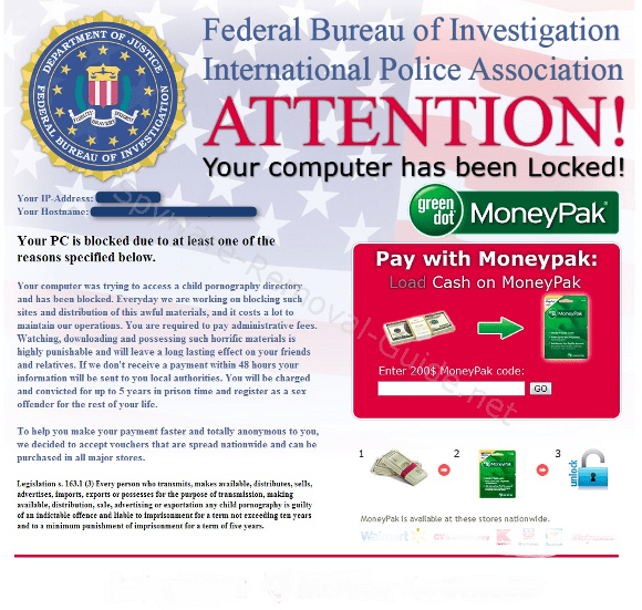 Federal Bureau of Investigation International Police Association Virus