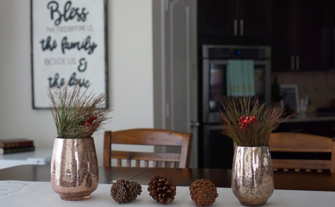 Decorations for dinning table