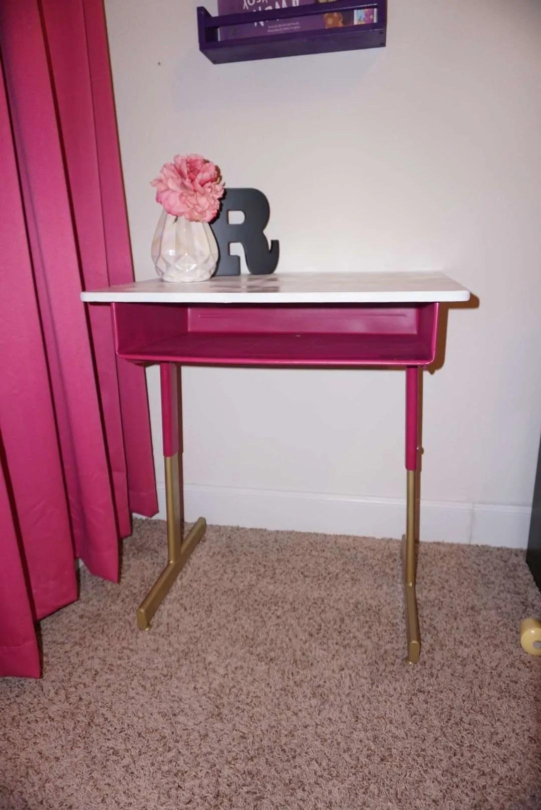Vintage Desk Make Over