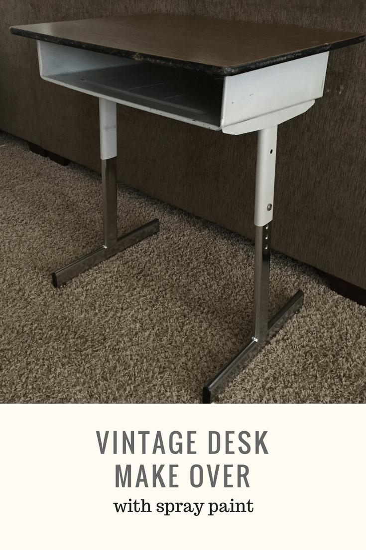 Pinterest Vintage Desk Make Over