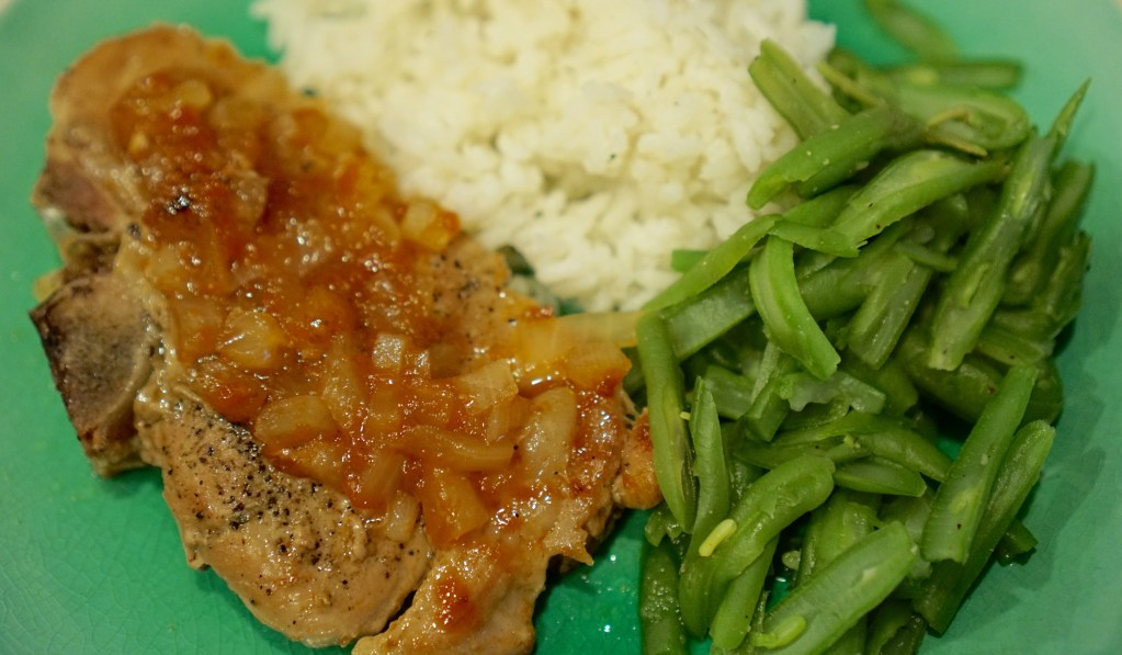 Southern Style Pork Chops
