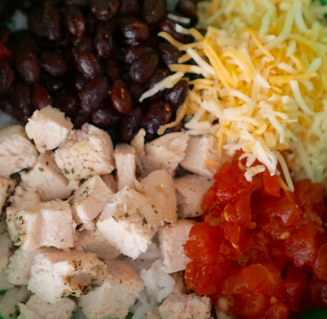 Burrito Bowls Toppings