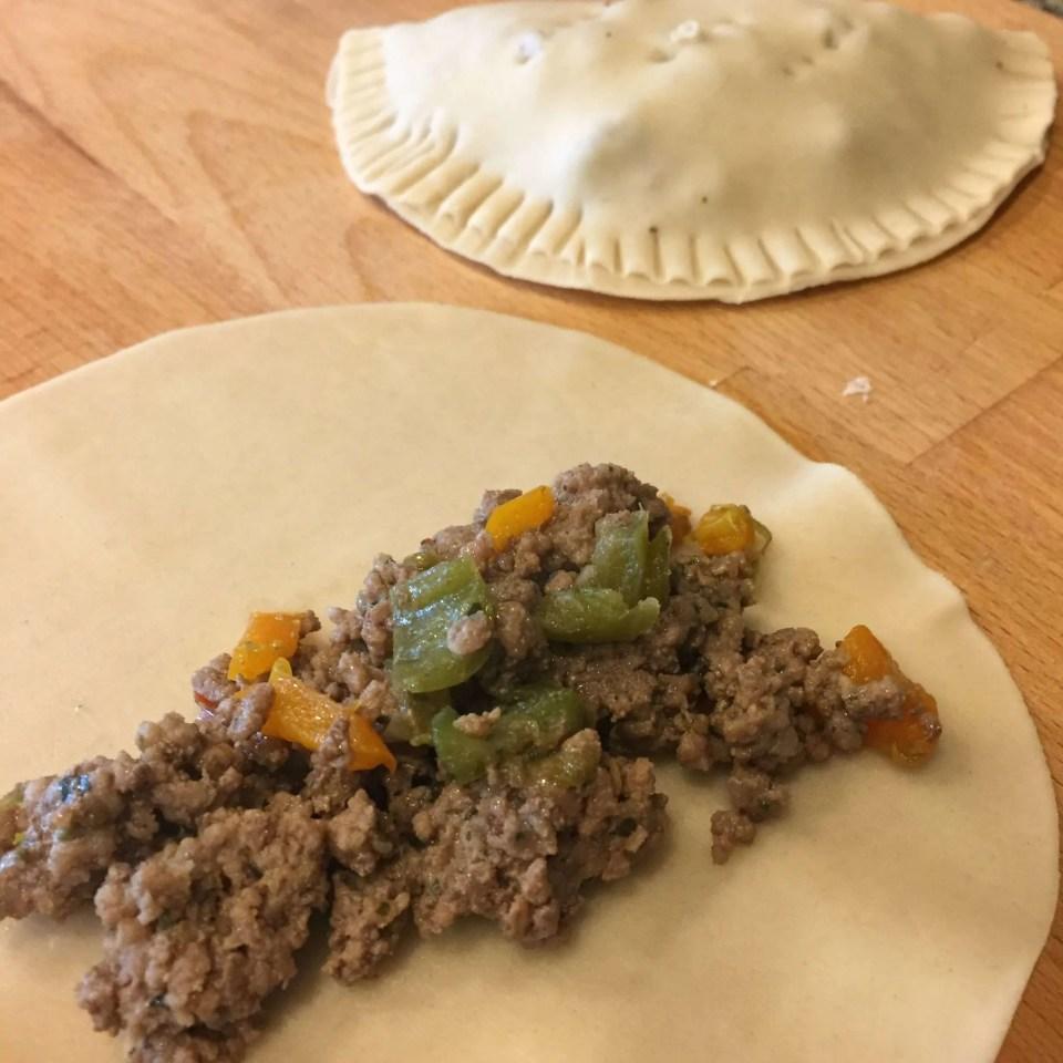 Make easy Empanadas using discos Goya