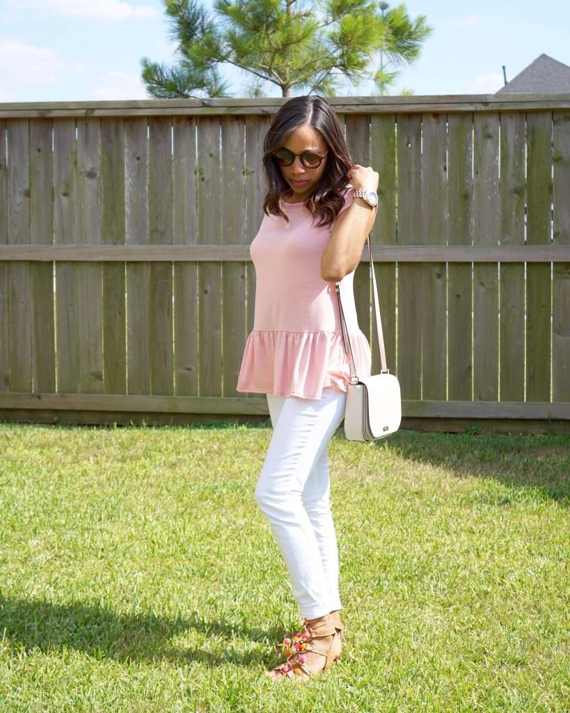 Pretty in Pink - Peplum Trend