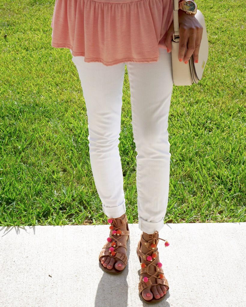 Pretty in Pink - Peplum Trend