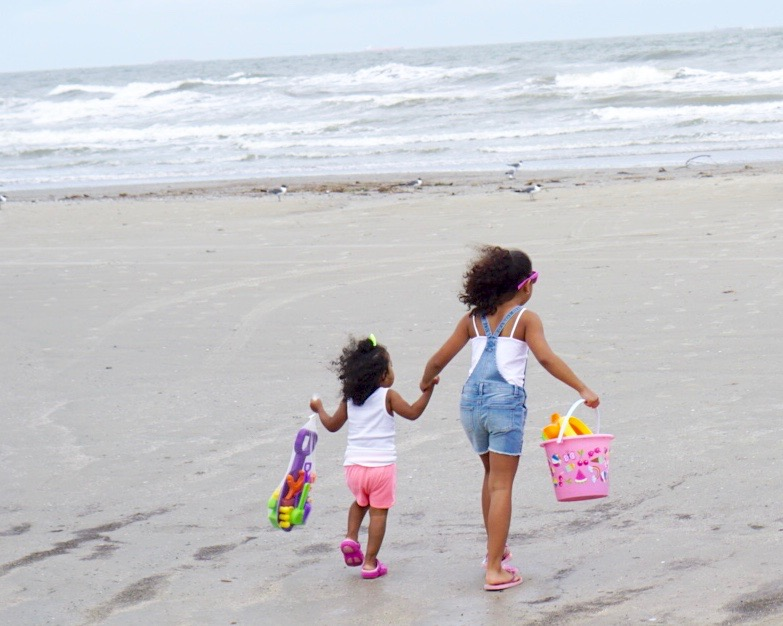 Our Galveston Beach Adventure