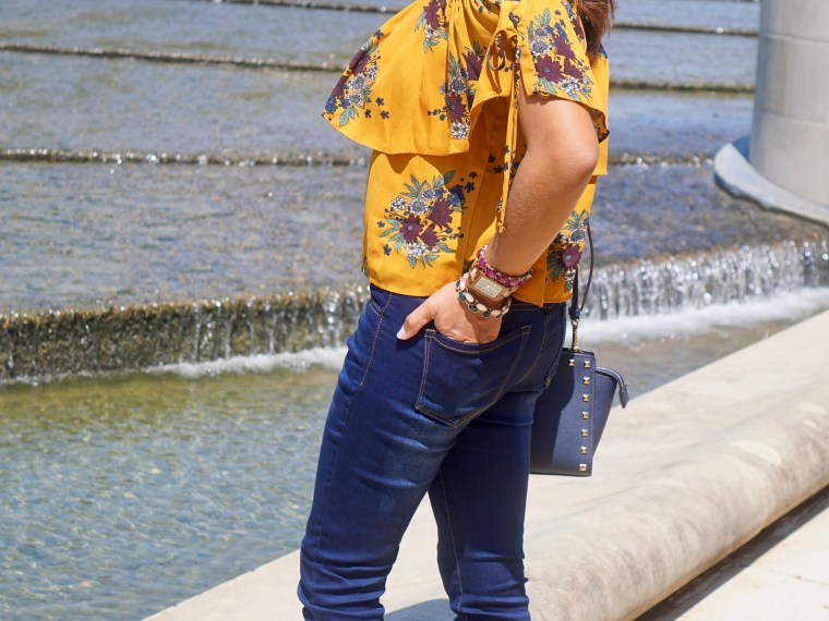 Off Shoulder & Florals… Until Fall Come to Texas