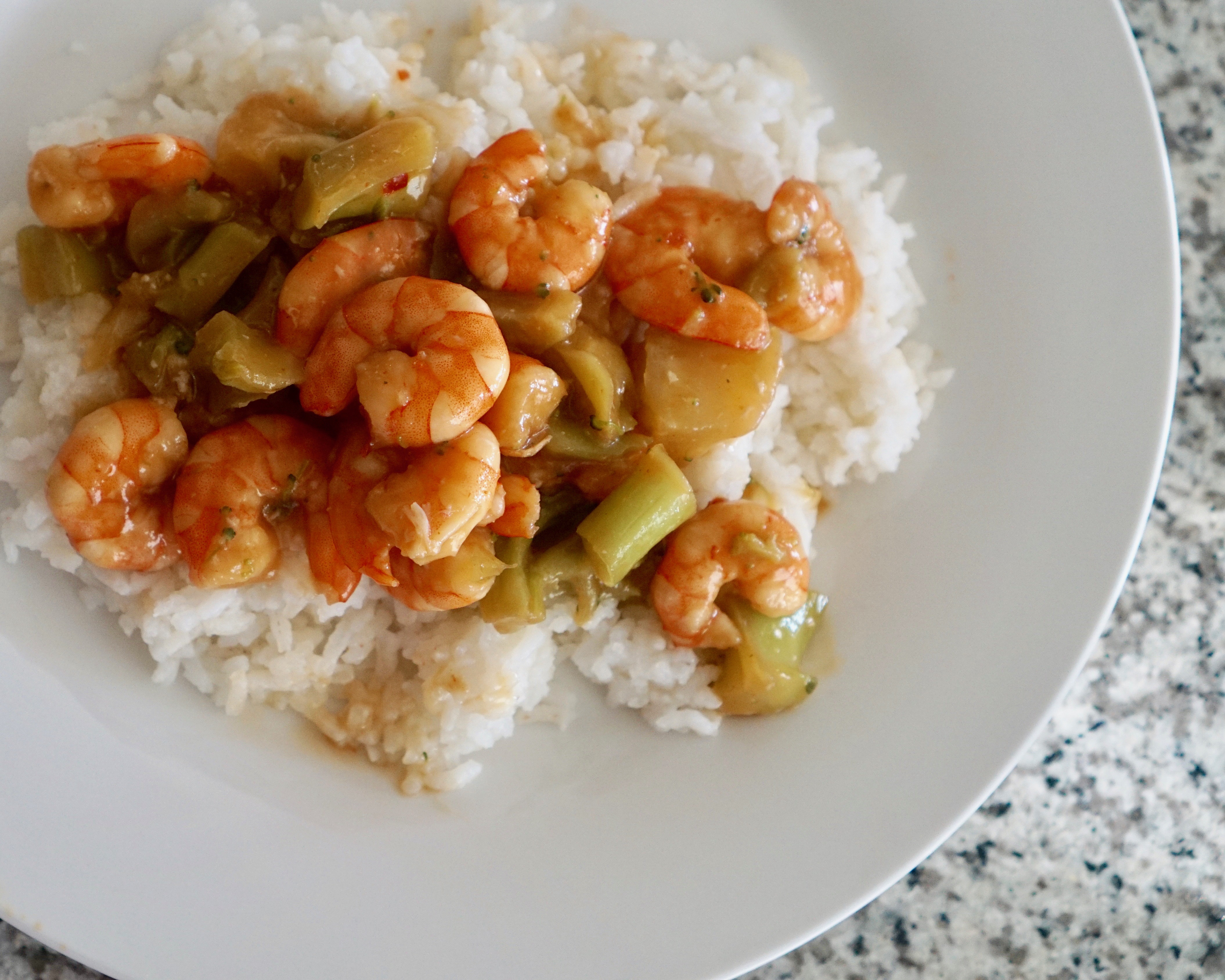 Easy Sweet and Spicy Shrimp Recipe