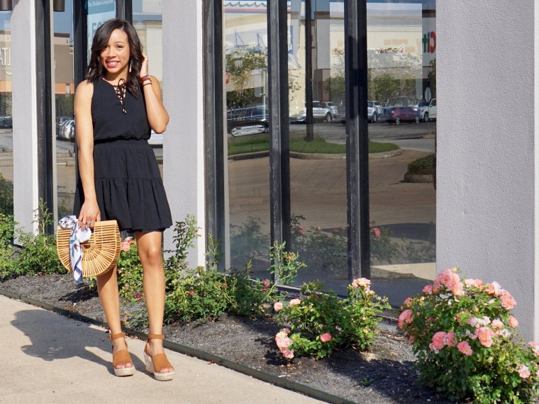 Trendy Thursday LinkUp + Two Looks & One Black Dress