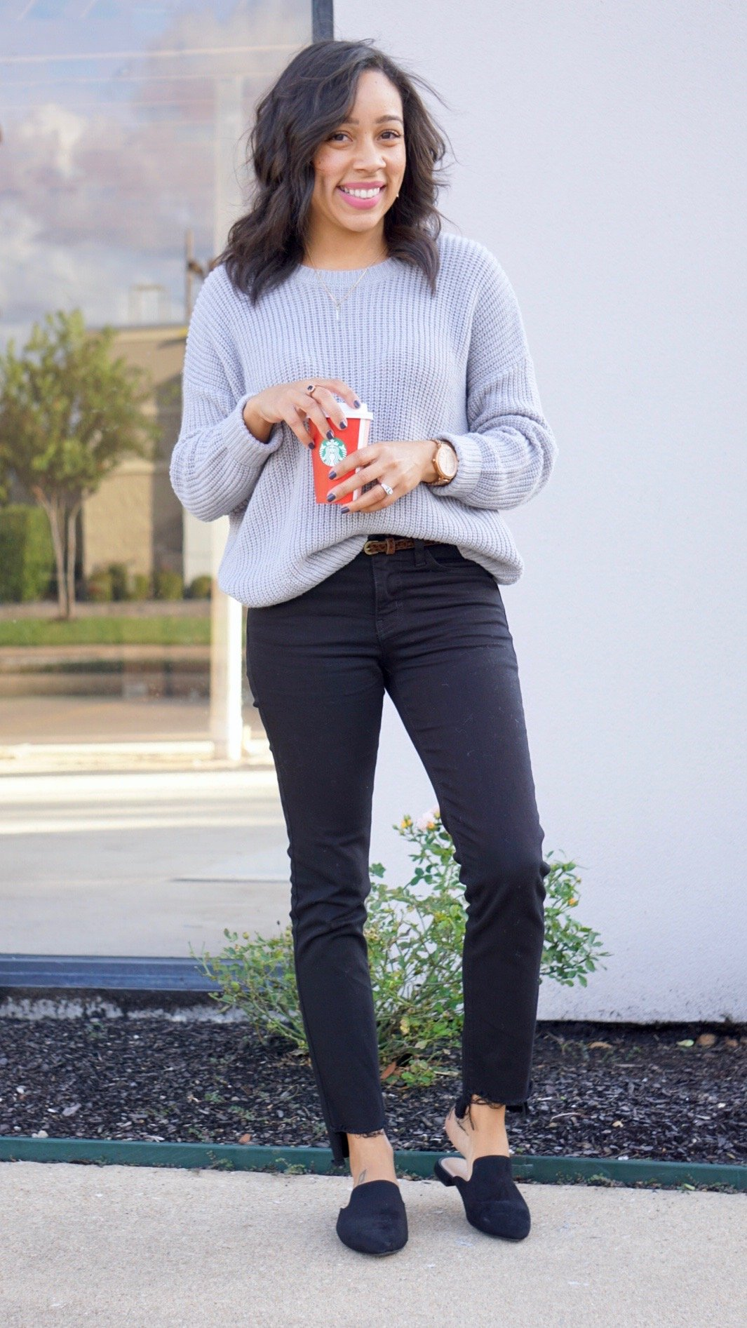 Forever 21 sweater, Forever21, Forever 21, Trendy Thursday LinkUp, Trendy Thursday, grey, LinkUp Party, Fall Fashion, Fall Style, Fall Color, Color Trend Alert, Fall Colors, long sleeve, ribbed sweater, bodysuit outfit, sweater fall, forever21 outfits, forever21 tops, forever21 fall, forever21 store, forever21 clothes, forever21 vestidos, forever21