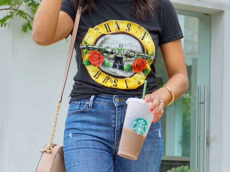 Trendy Thursday LinkUp + My Favorite Band Graphic Tee