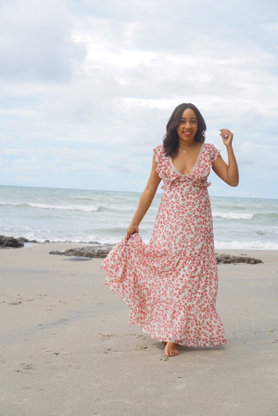 Trendy Thursday LinkUP + Beautiful Maxi Dresses to Wear Now or Later