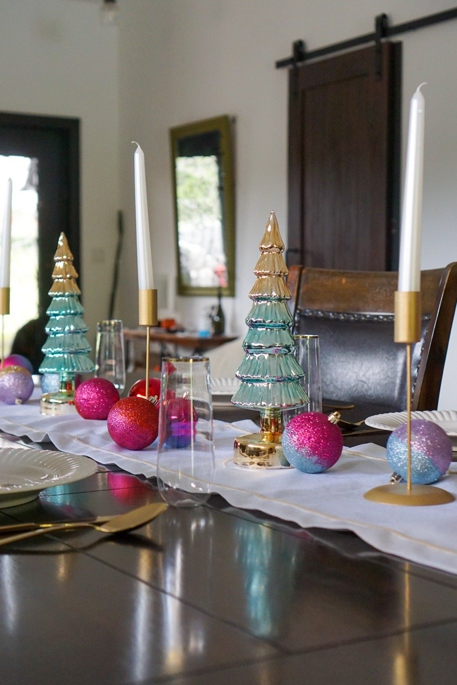 A Holiday Tablescape with my Favorite Walmart Finds