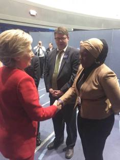 Hillary Campaign - Backstage with HRC