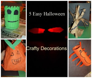 5 Easy & Fast Halloween Fun Crafts