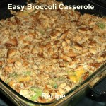 Easy Broccoli Casserole Recipe