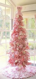 All Pink Christmas Tree