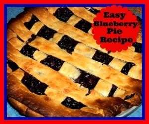Easy Blueberry Pie Recipe
