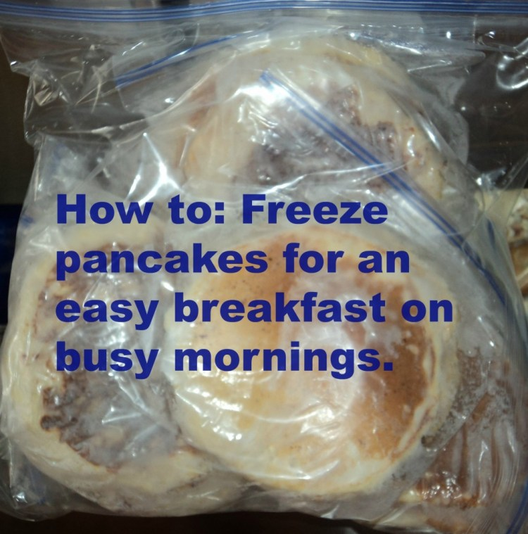 How to: Freeze Pancakes