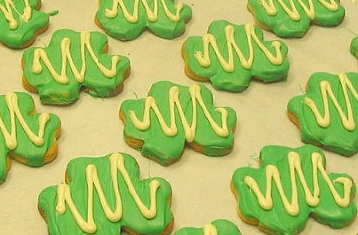 st. pats cookies