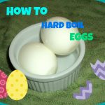 How to Hard Boil an Egg