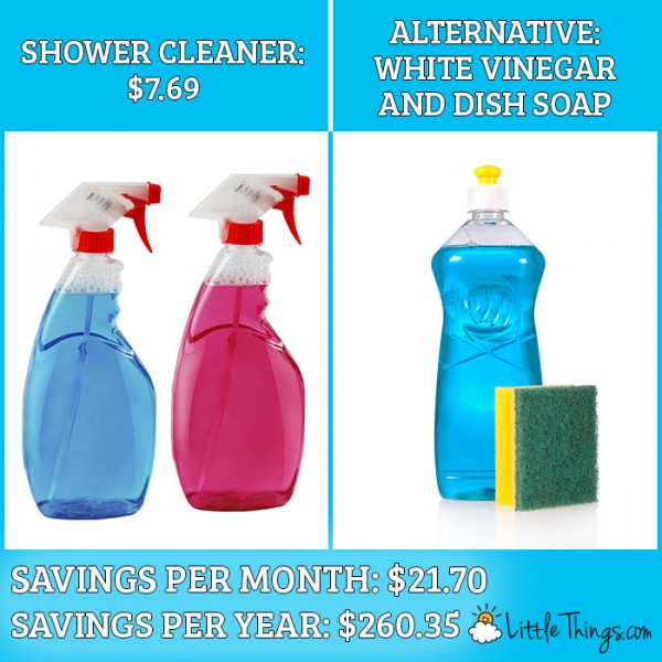 save over $800 a year on products