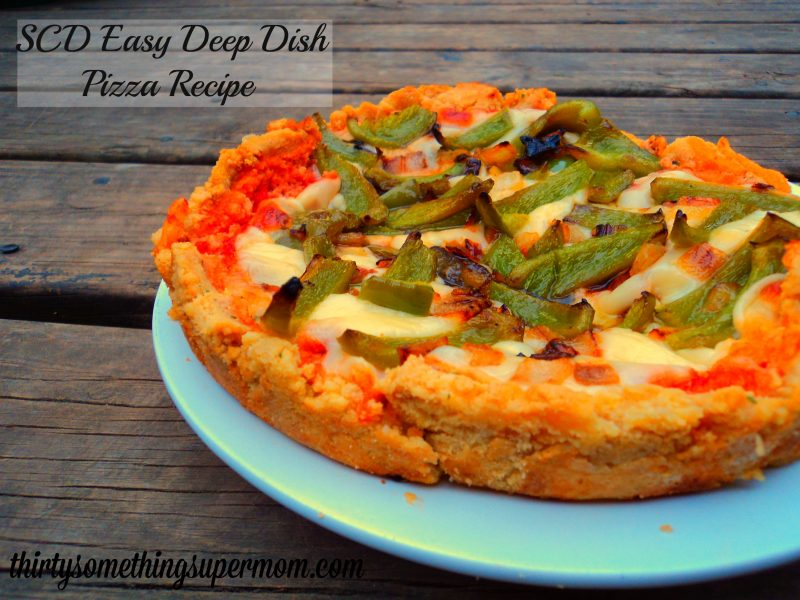 SCD Homemade Deep Dish Pizza Recipe