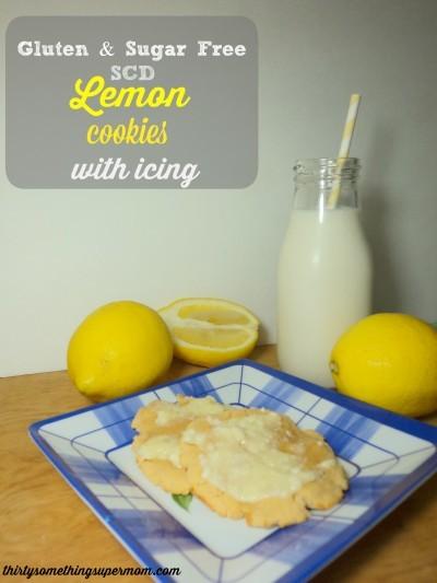 SCD Lemon Cookies Gluten & Sugar Free