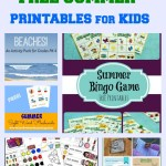 Fun List of Free Summer Printables for Kids