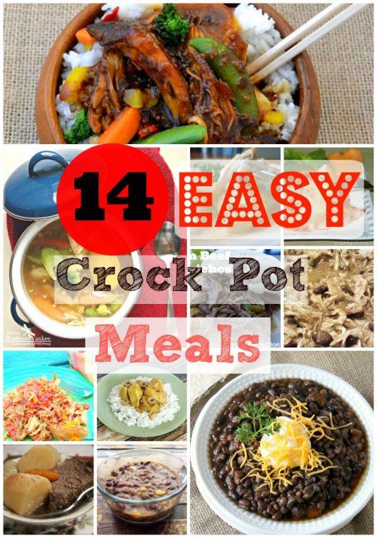 14 Easy CrockPot Meals