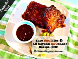 Easy BBQ Ribs Recipe for SCD Diet