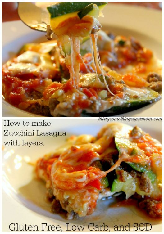 How to Make Zucchini Lasagna with Layers