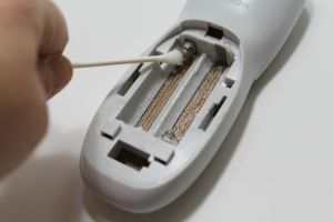 How to Clean Battery Corrosion & Save Your Remote
