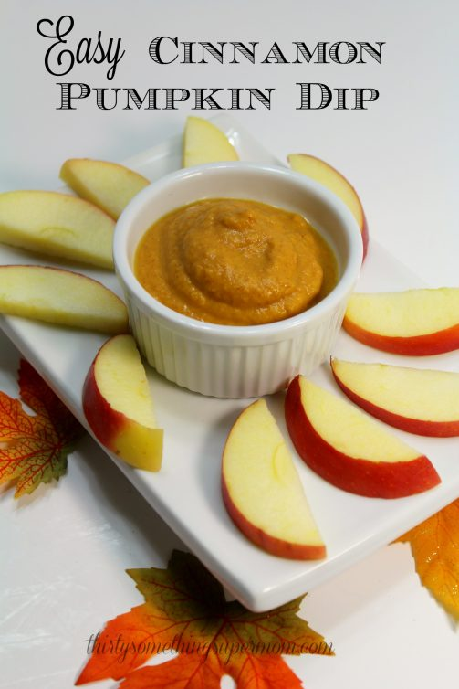 Easy Pumpkin Cinnamon Dip Super Mom