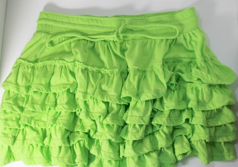 green skirt DIY