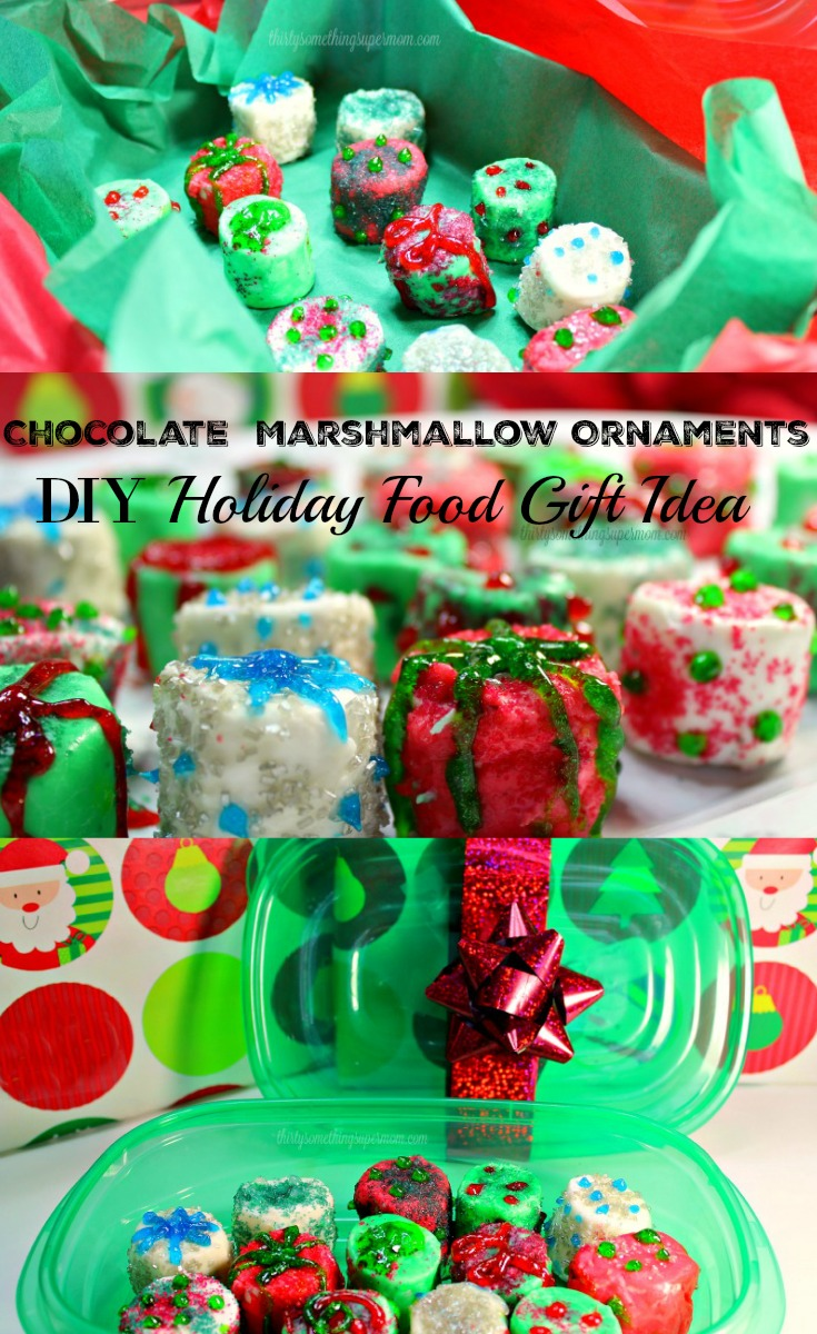 These DIY Food Gifts are perfect for the holidays. They are so easy to make and she even shows you how to color the chocolate perfectly.