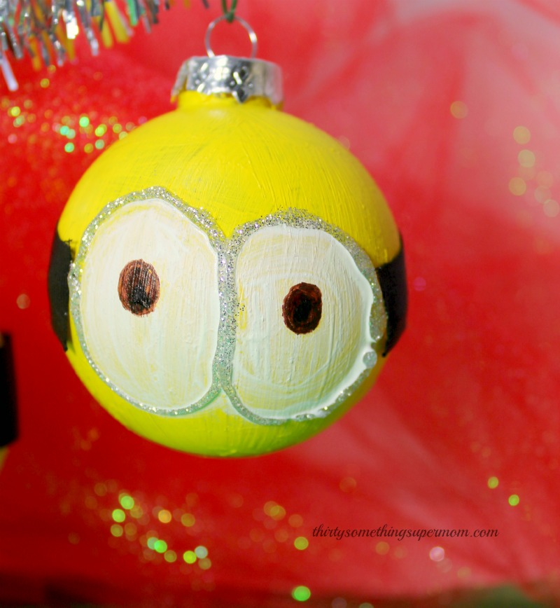 Before And After Merging Two Rooms Has Created A Super: Minions DIY Christmas Ornaments
