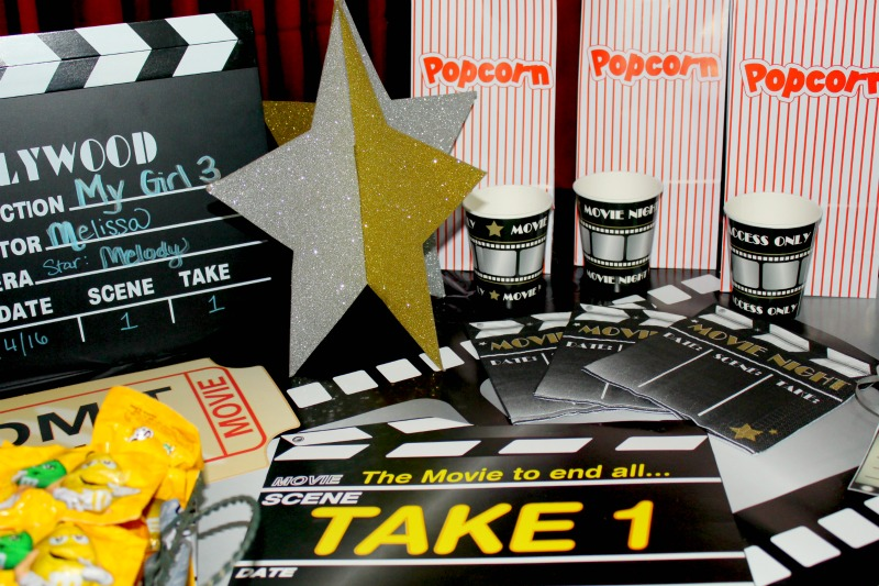 Party Idea movie night