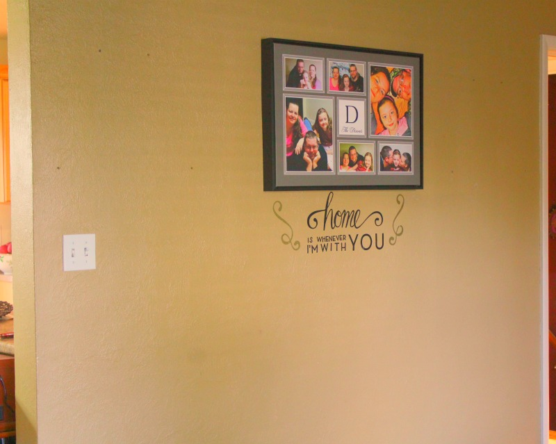 DIY Wall Decor - Wood Accent Wall