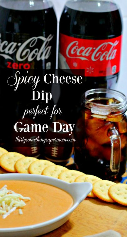 This Spicy Cheese Dip is the perfect Game Day Appetizer