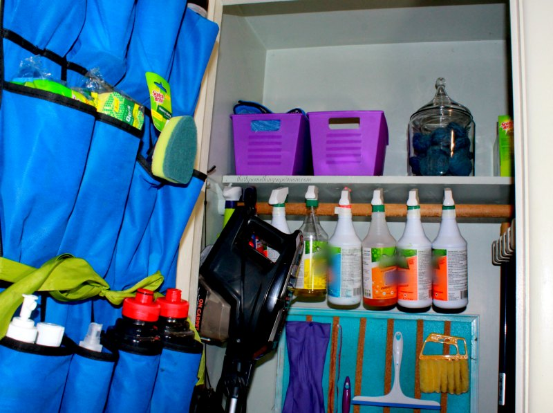 Turn a Clothes Closet into an Organized Cleaning Closet