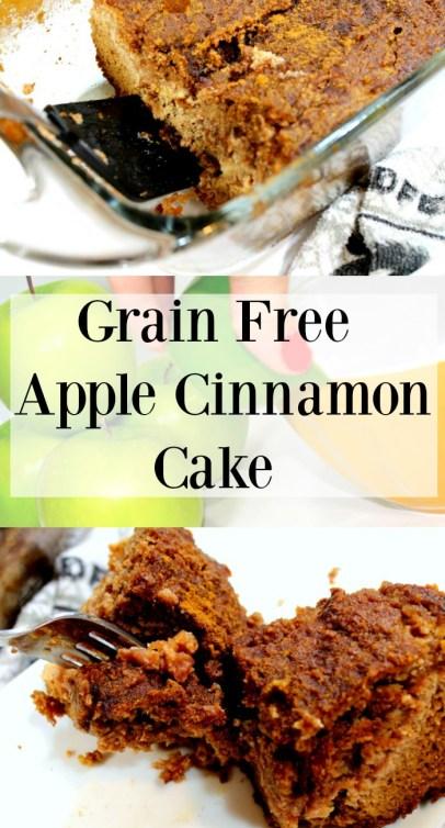 Grain Free Apple Cinnamon Cake SCD
