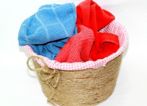 DIY Rope Basket No Sew