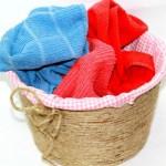 DIY Rope Basket No Sew